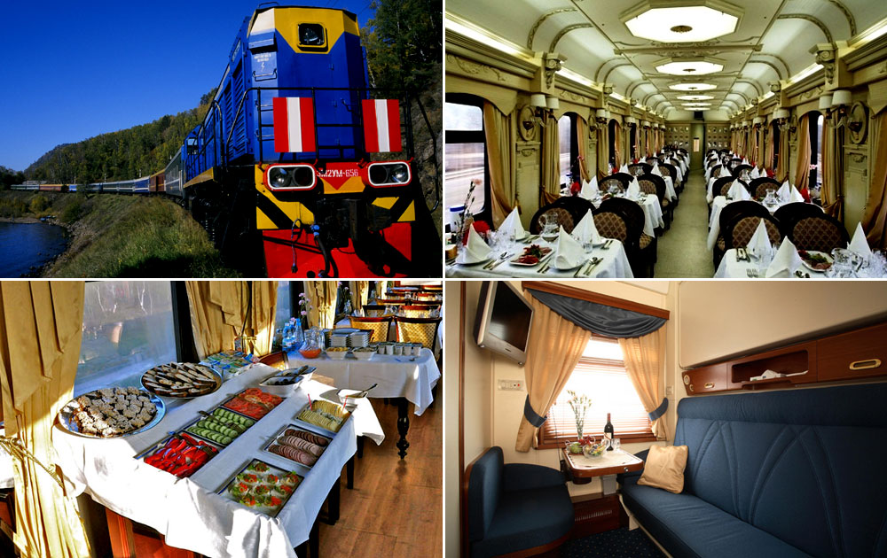 Golden Eagle Trans Siberian Express, Russia