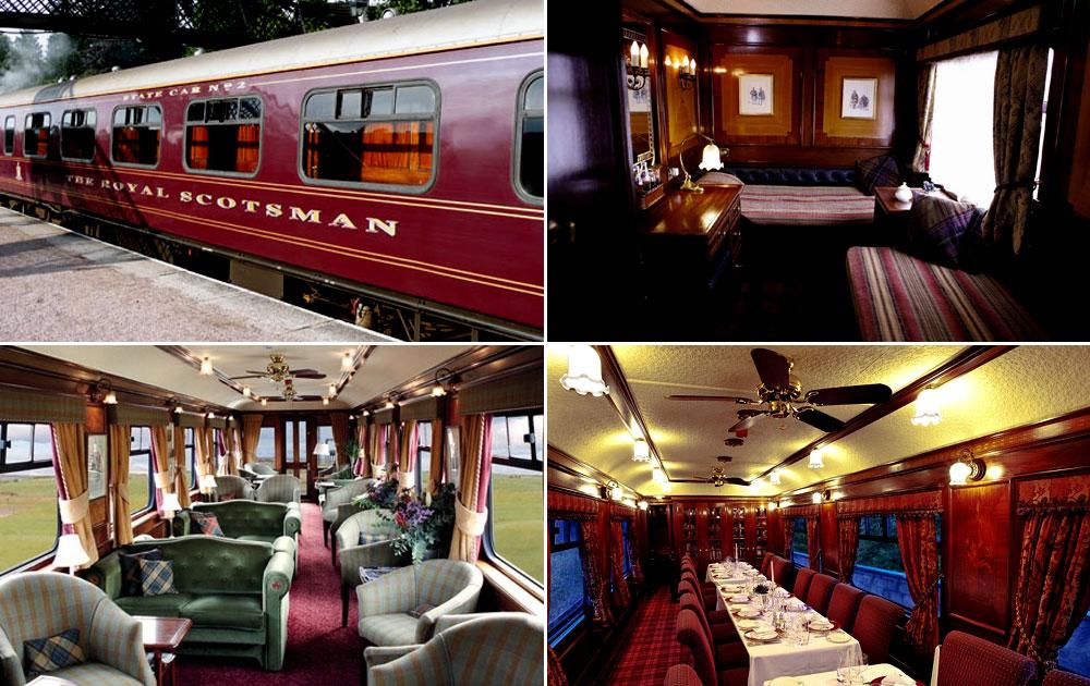 Royal Scotsman, Scotland