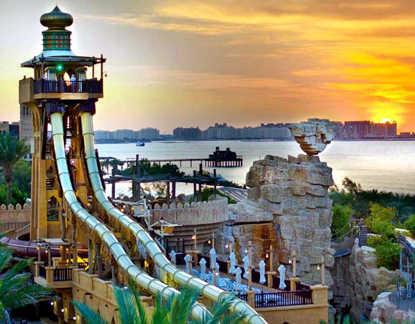 Jumeirah Sceirah — Wild Wadi Waterpark, Dubai