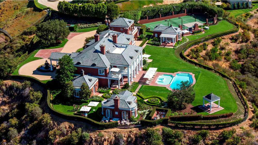 Silicon Valley mansion