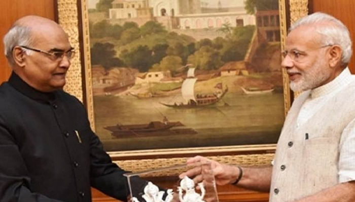 रामनाथ कोविंद यांच्याबाबत पंतप्रधान मोदींनी केलं ट्विट