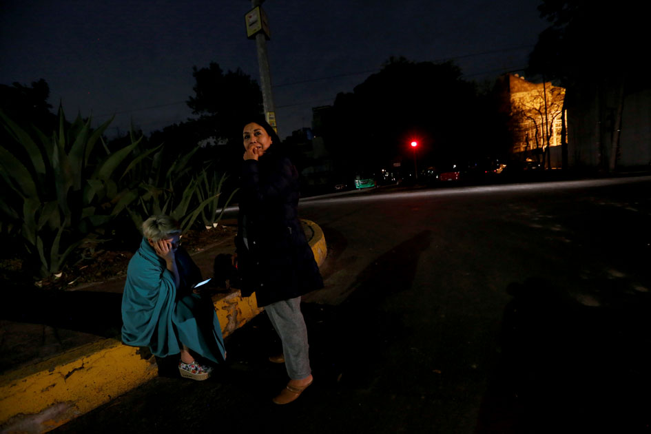 earthquake hit Mexico City