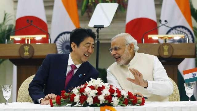 जय इंडिया जय जपानचा पंतप्रधान आबेंनी दिला नारा