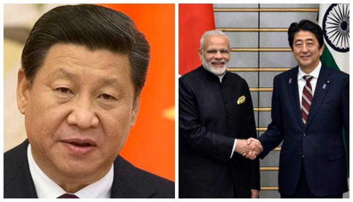भारत-जपान मैत्रीमुळे चीनचा तीळपापड