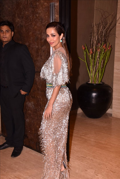 Actress Malaika Arora Khan at star studded red carpet of