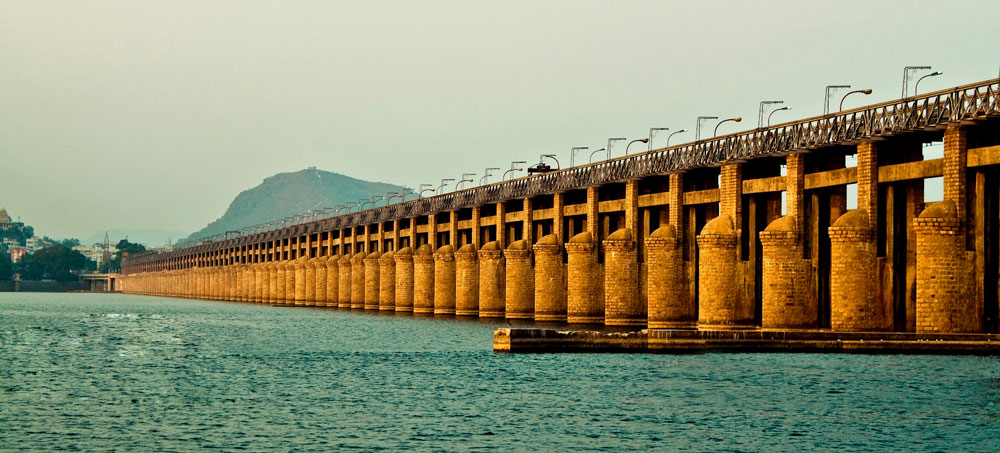 Prakasam barrage, Vijayawada