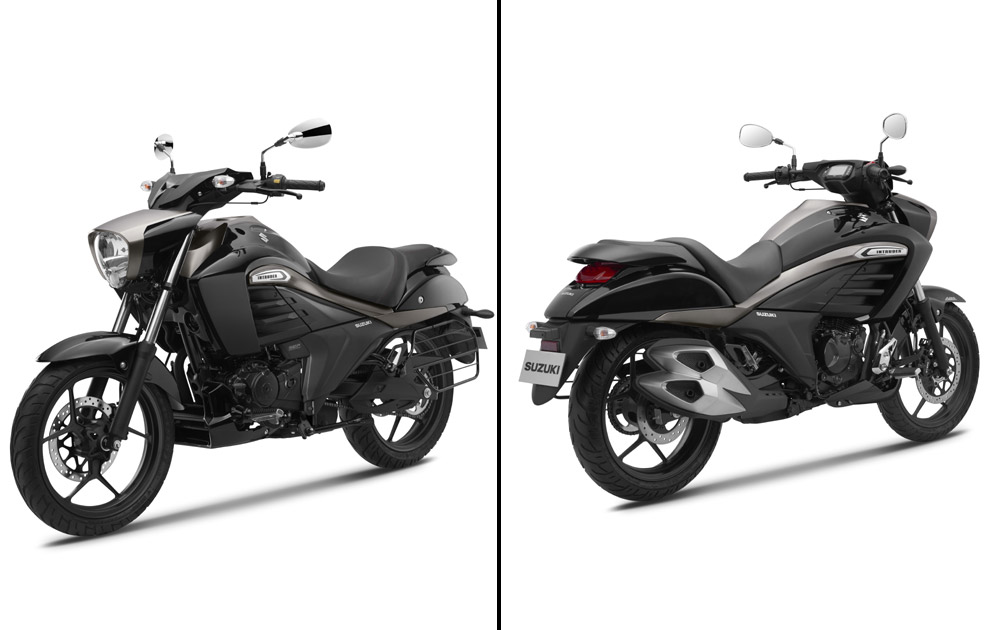 Suspension is managed by telescopic forks at the front and a monoshock unit at the rear.