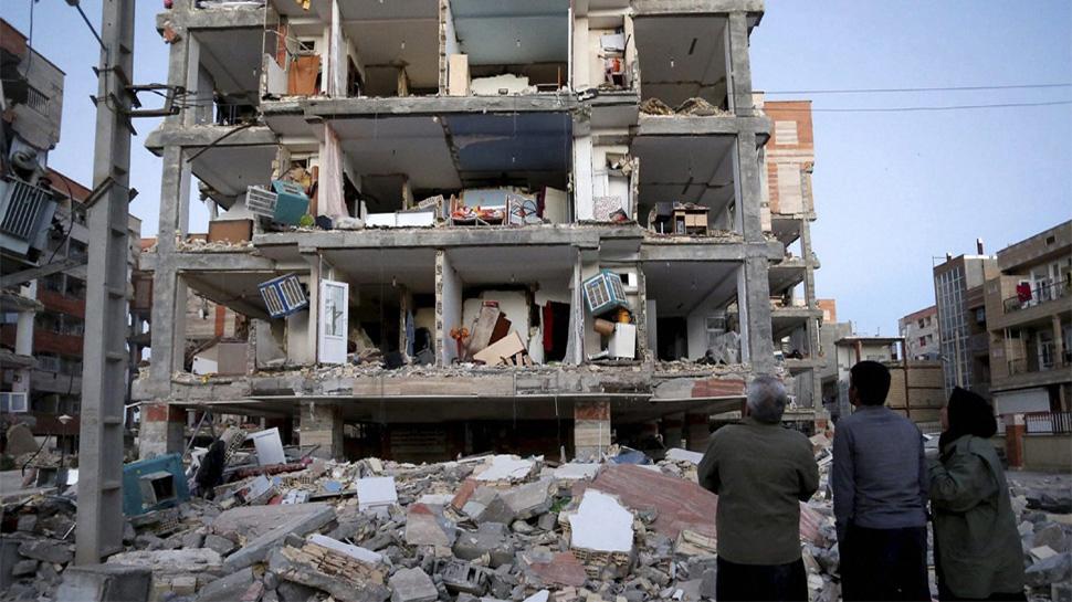 इराण-इराक भूकंपातील मृतांची संख्या ४५० वर