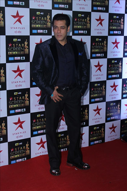 Actor Salman Khan at the red carpet of