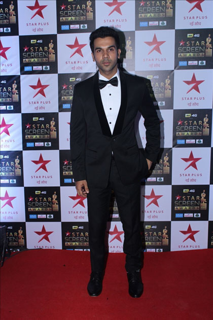 Actor Rajkummar Rao at the red carpet of