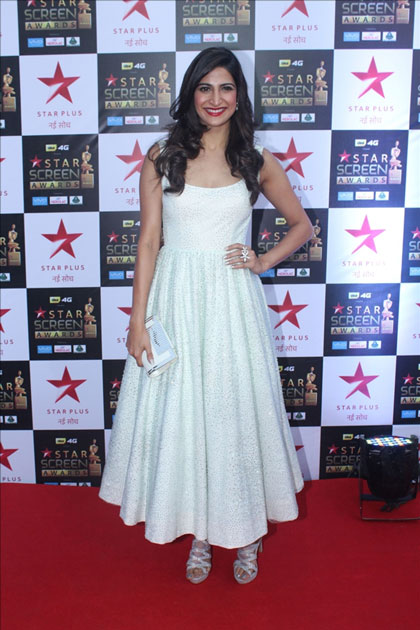 Actress Aahana Kumrar at the red carpet of