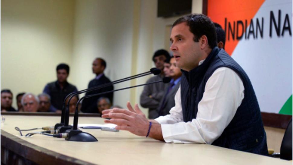 न्यायाधीशांची पत्रकार परिषद लोकशाहीसाठी दुर्दैवी - राहुल गांधी