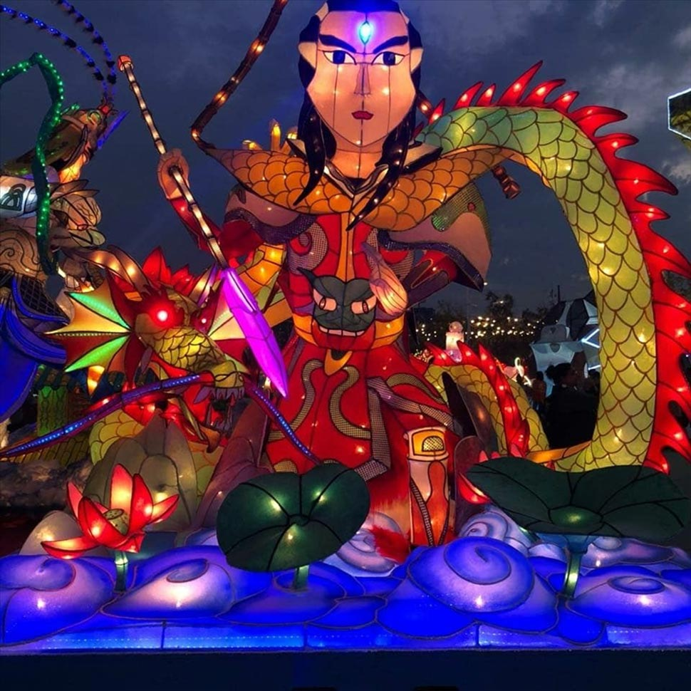 Taiwan celebrates Chinese new year with lantern festival