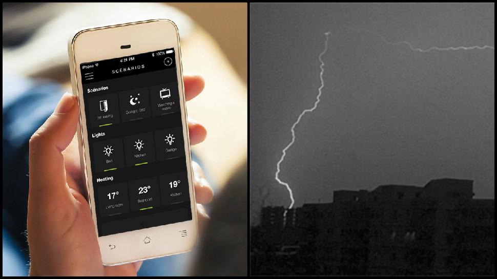 वीज कोसळण्यापूर्वी ४५ मिनिटे आगोदर अॅप युजर्सला मिळणार अलर्ट