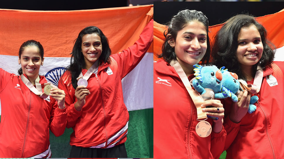 India in CWG finally