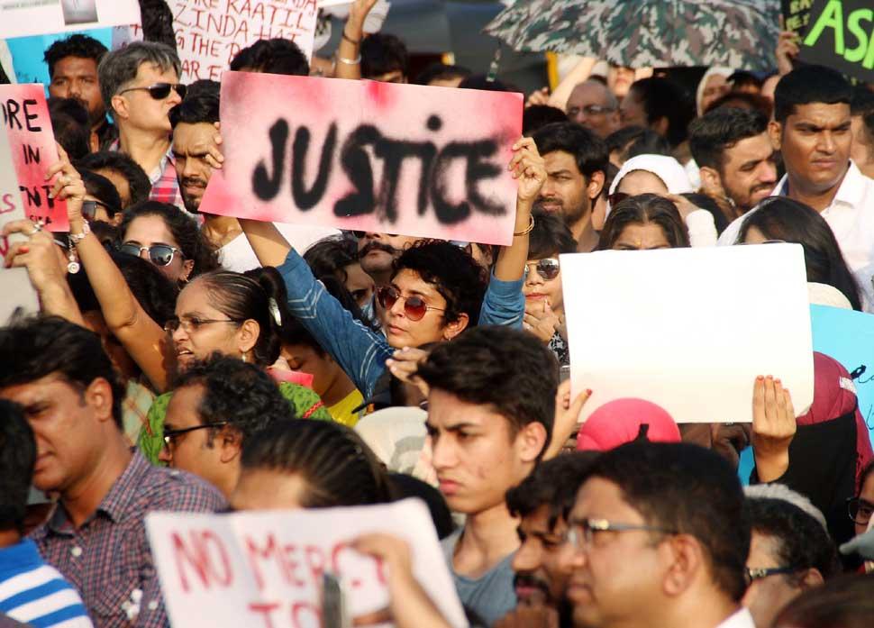 Bollywood Celebrity Protest against Rape