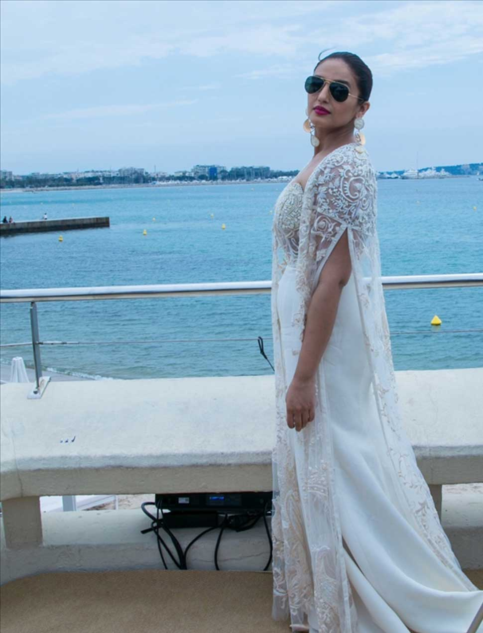 Huma Qureshi begins her journey at Cannes Film Festival, looking beautiful in white
