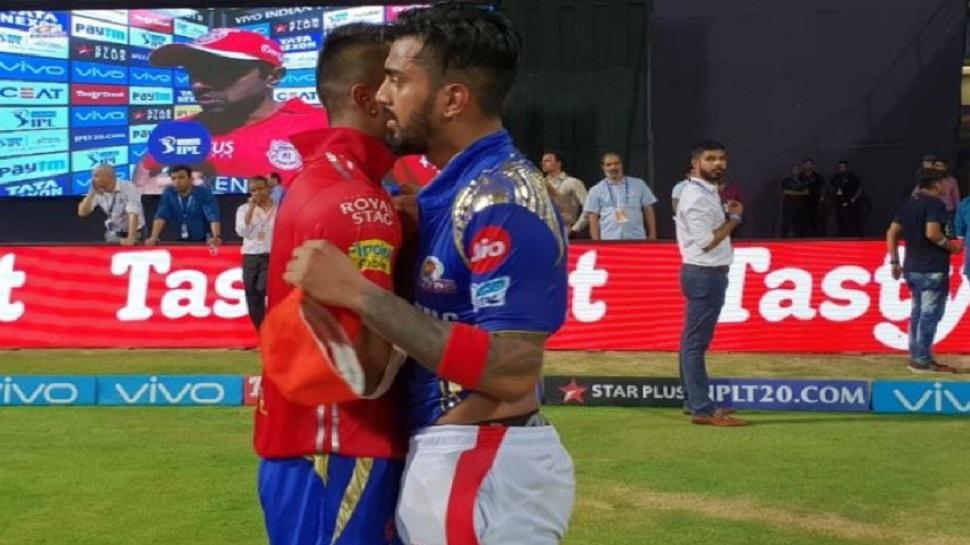 मॅच हरल्यानंतर के.एल राहुल दिसला मुंबई टीमच्या जर्सीत