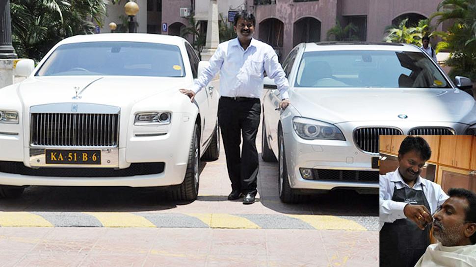 Story of a billionaire Barber Ramesh babu