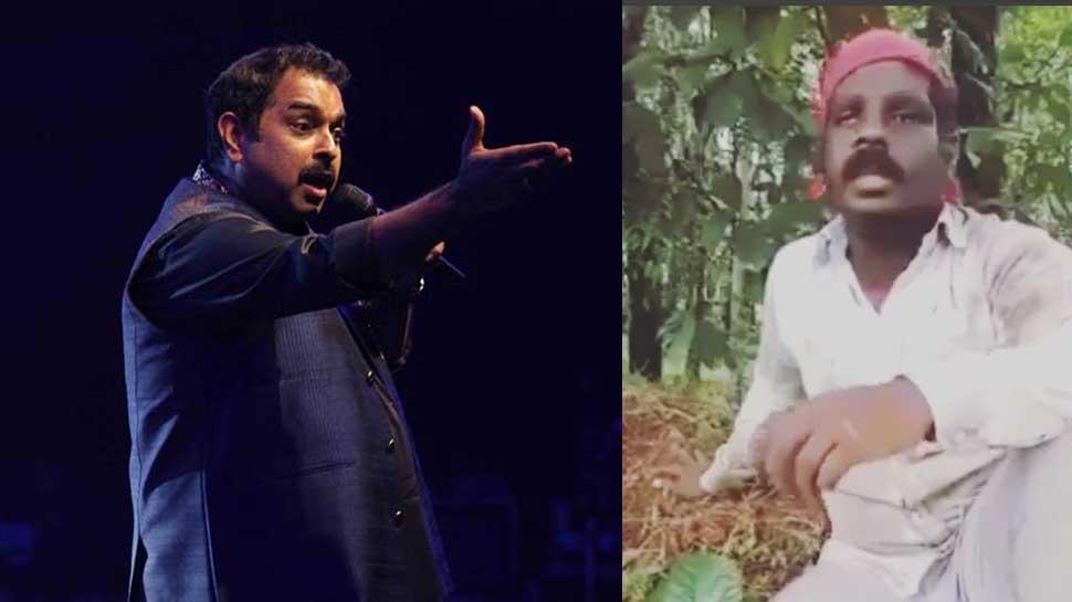 सोशल मीडियावर व्हायरल झालेल्या या शेतकरी गायकाला शंकर महादेवन देणार संधी