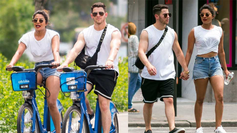 In pics: Priyanka Chopra goes cycling with Nick Jonas Fourth Of July Celebrations