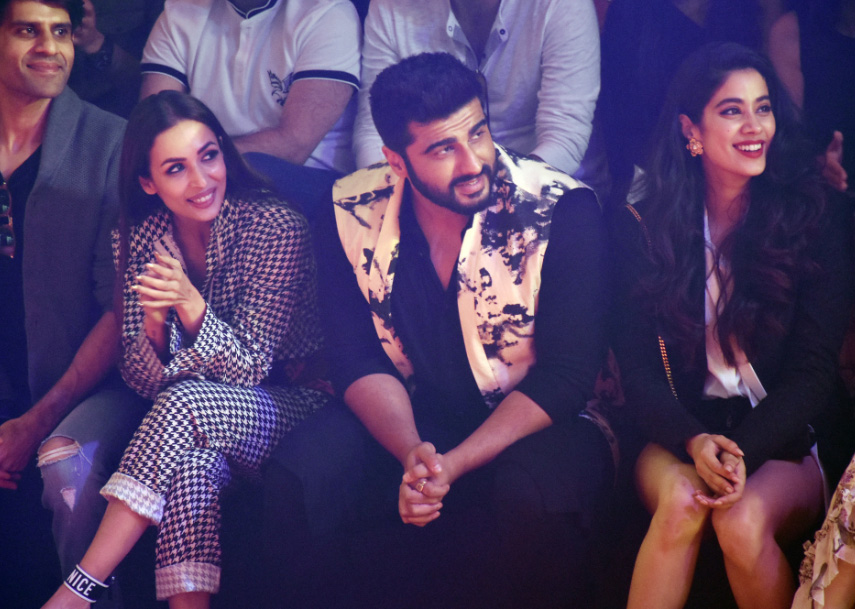 Arjun Kapoor with Malaika