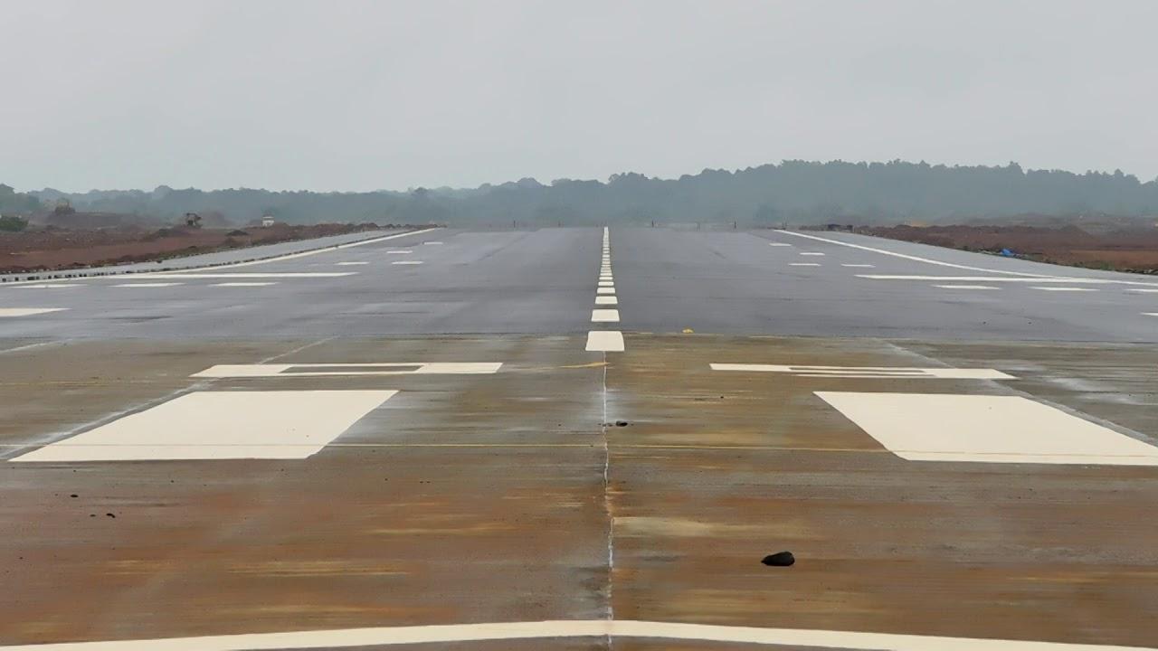 चिपी विमानतळावर पहिली हवाई चाचणी १२ सप्टेंबरला