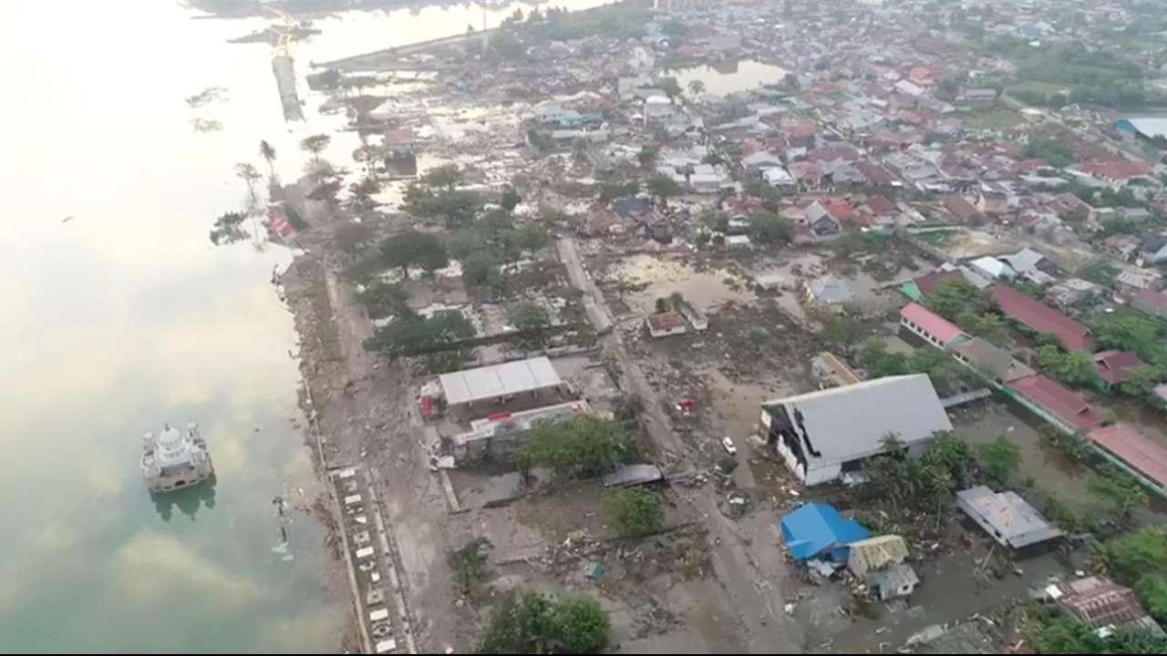 इंडोनेशियातील भूकंप आणि त्सुनामीत 5 हजार लोकं बेपत्ता
