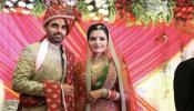 VIDEO : भुवनेश्वरच्या लग्नातील 'हा' रोमँटिक क्षण