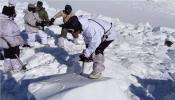 हिमस्खलनात ३ भारतीय जवान बेपत्ता