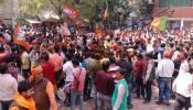 देशभरात भाजप कार्यकर्त्यांचा जल्लोष