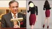 'महिलेच्या स्कर्टसारखे असावे भाषण'; पाकिस्तानी न्यायाधीशांची मुक्ताफळं