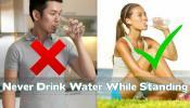 उभं राहून पाणी पिता मग 'या' 7 गोष्टी जरूर वाचा