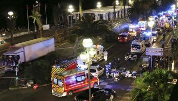 फ्रान्सच्या नीस शहरात दहशतवादी हल्ला