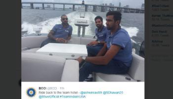 टी-20 आधी टीम इंडियाची अमेरिकेत मस्ती