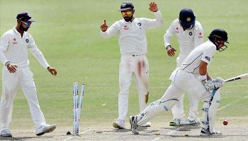 भारत वि न्यूझीलंड : पहिली कसोटी