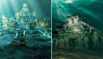 पाण्याखाली सापडलेली अद्भूत शहरं