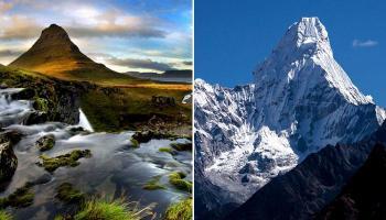 जगभरातील देखण्या पर्वतरांगा