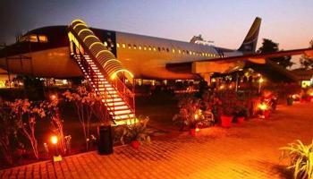 हवाई अड्डा - लुधियानात विमानात बांधले रेस्टॉरंट