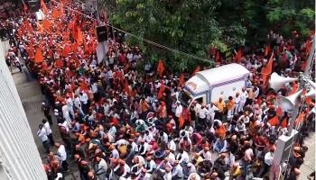 मराठा क्रांती मोर्चा@मुंबई