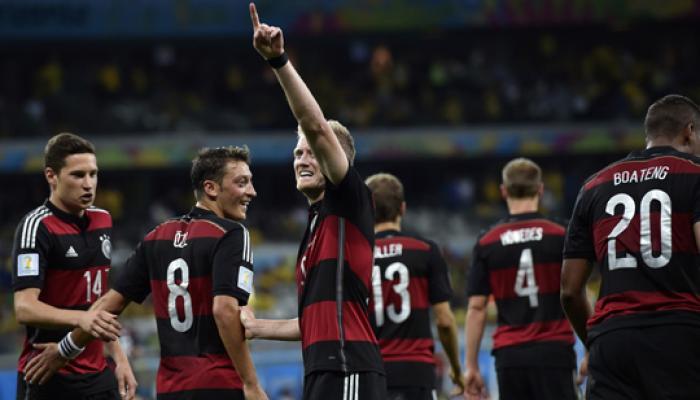 जर्मनीकडून ब्राझीलचा धुव्वा