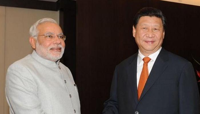 भारत-चीन सीमावादावर चर्चा, मोदी भेटले चीनच्या अध्यक्षांना