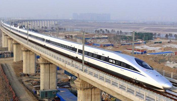 मुंबई-अहमदाबाद प्रस्तावित बुलेट ट्रेनसाठी पहिला गिअर