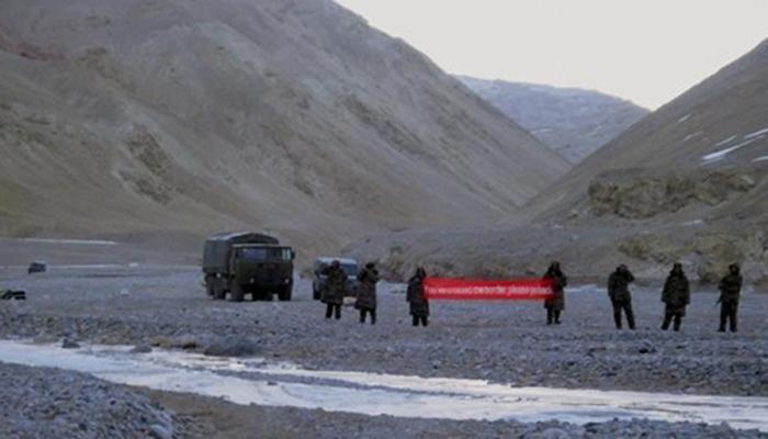 सीमाभागात चीनने घुसखोरी केल्याचं उघड