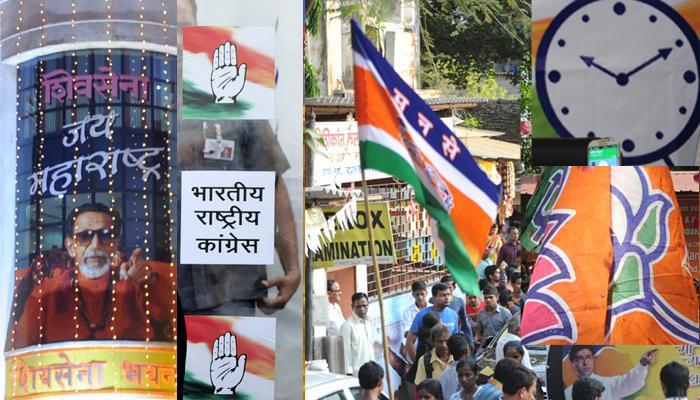 निवडणुकीचा रणसंग्राम...पण राजधानी मुंबईत चिडीचूप