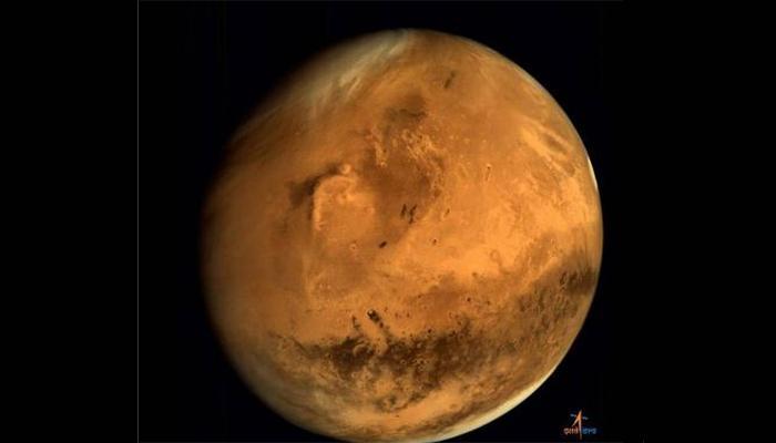 मंगळयानाने पाठवला मंगळाचा आणखी एक फोटो