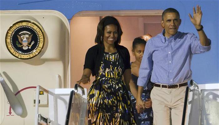 ओबामांचा यंदाचाही ख्रिसमस हवाईमध्ये