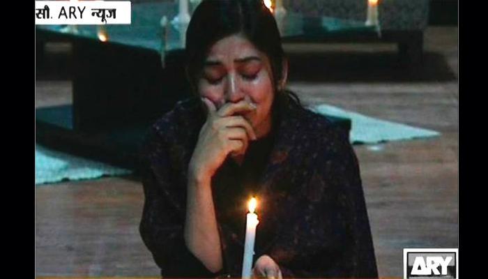 हताश पाकिस्तान : 'बुलेटीन'मध्येच हमसून हमसून रडली न्यूज अँकर!