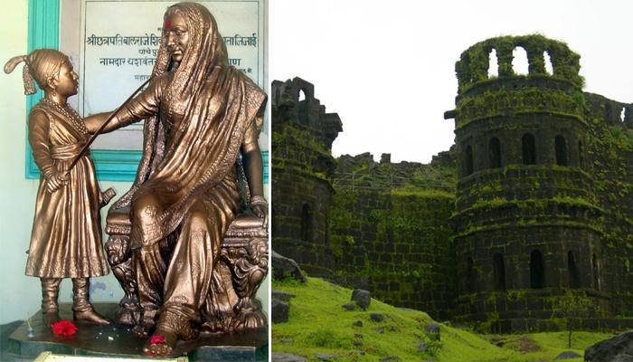राजमाता जिजाऊंचं 'संरक्षित' स्मारक नष्ट होण्याच्या मार्गावर