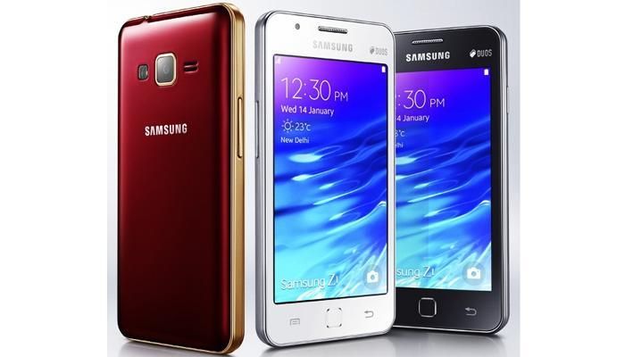 सॅमसंगनं लॉन्च केला पहिला टायझेन स्मार्टफोन Z1!